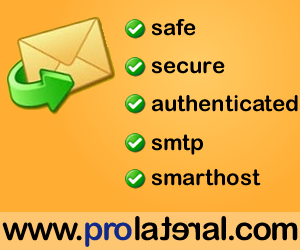 outbound SMTP Mail Relay called outMail by Prolateral